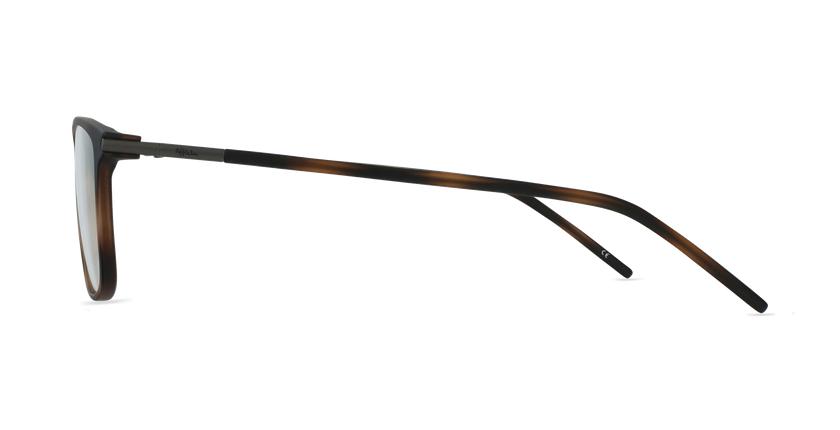Lunettes de vue homme TMF73 écaille - Vue de côté
