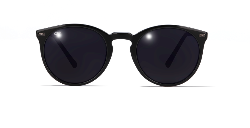Lunettes de soleil femme SHARON noir - vue de face