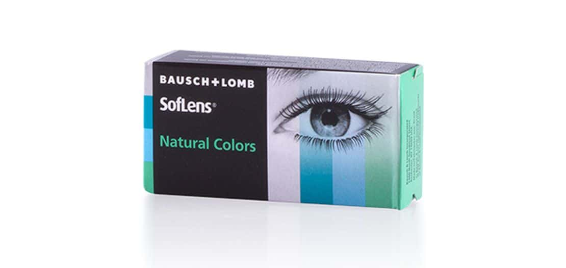 Lentilles de contact SOFLENS NATURAL COLORS JADE
