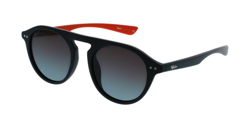 Óculos de sol BORNEO POLARIZED BKRD preto/vermelho - vue de 3/4