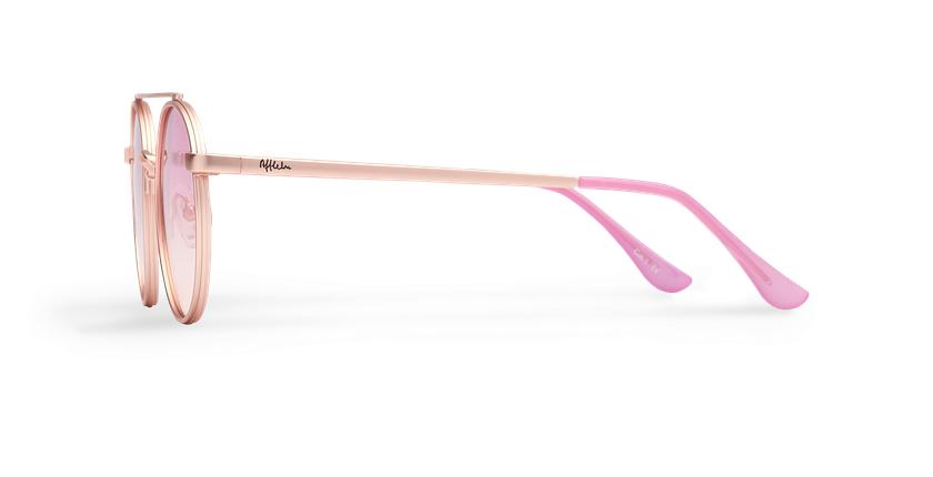 Óculos de sol MOHO PK rosa - Vista lateral