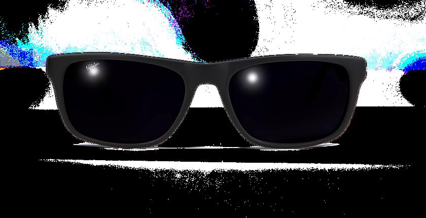 Lunettes de soleil WILL noir - Vue de face