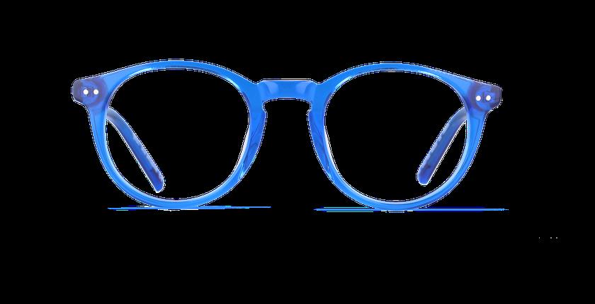 Lunettes de vue enfant BRISBANE bleu - vue de face