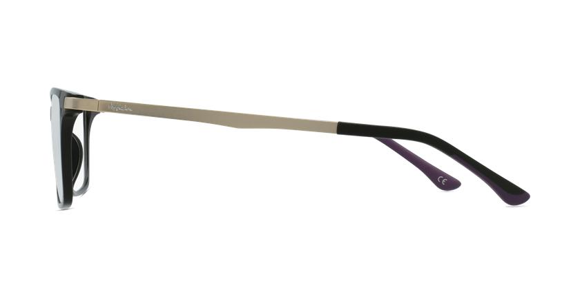 Lunettes de vue femme MAGIC 61 BLUEBLOCK noir - Vue de côté