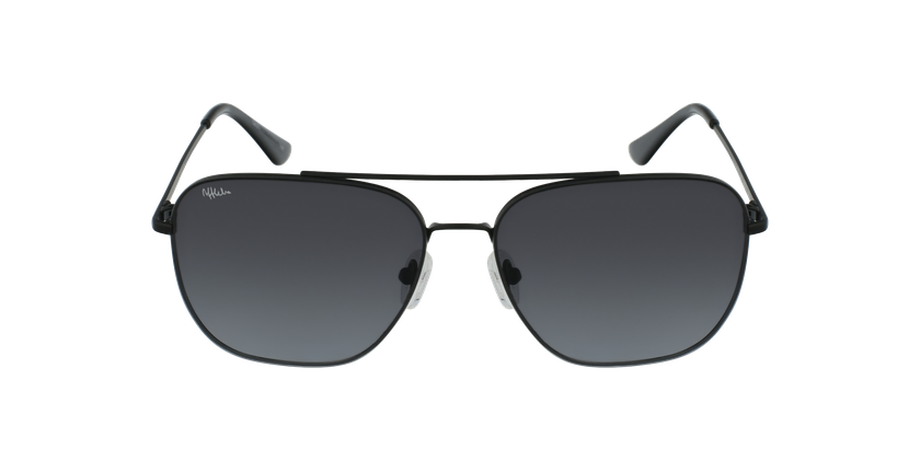Óculos de sol homem VINAROZ BK preto - Vista de frente