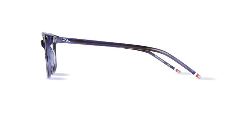 Óculos graduados senhora MARJOLAINE azul - Vista lateral