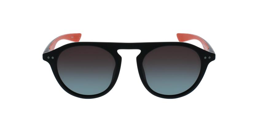 Óculos de sol BORNEO POLARIZED BKRD preto/vermelho - Vista de frente