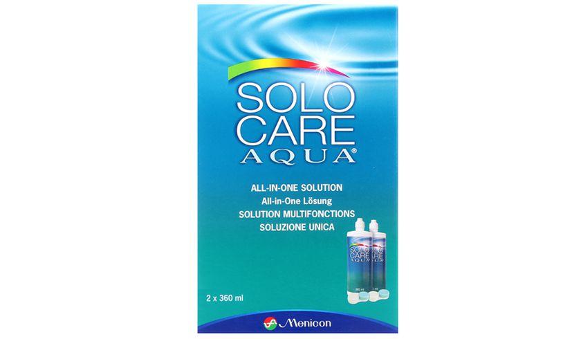 SoloCare Aqua 2x360ml - vue de face