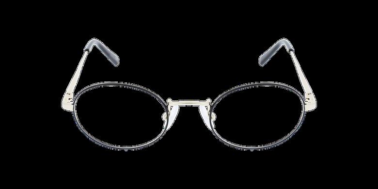 Lunettes de vue NEIL noir/doréVue de face