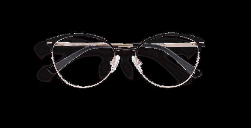 Lunettes de vue femme SUE noir - Vue de face