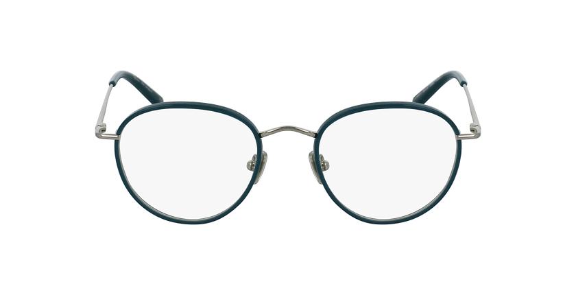 Óculos graduados SHUBERT GR prateado/turquesa - Vista de frente