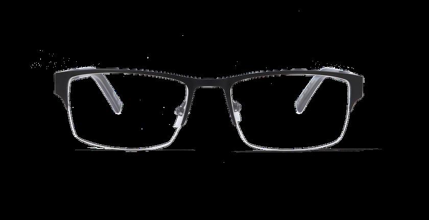 Lunettes de vue homme AFFLELOU COUTURE noir - vue de face