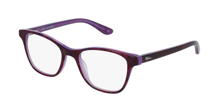 Óculos graduados criança Angele pu (Tchin-Tchin +1€) violeta - vue de 3/4