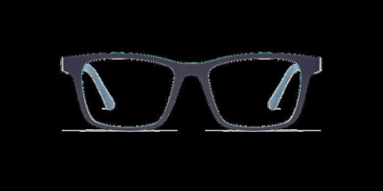 Lunettes de vue homme MAGIC 01 gris/mat gris foncé / bleu canard