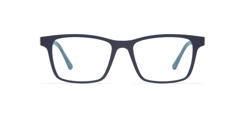 Óculos graduados homem MAGIC 01 cinzento/cinzento escuro mate/ azul