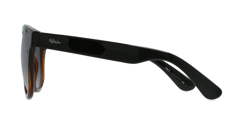 Óculos de sol senhora LUZ BK preto/tartaruga - Vista lateral