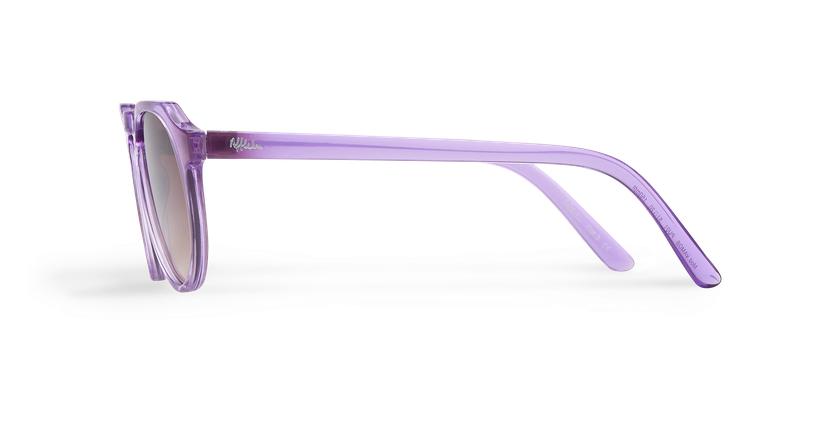 Lunettes de soleil VAMOS violet - Vue de côté