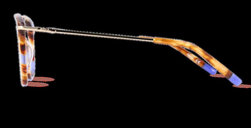 Lunettes de vue femme KEIGHLEY écaille - vue de côté