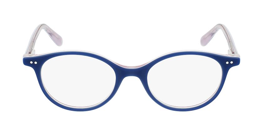 Óculos graduados criança CAPUCINE BL (TCHIN-TCHIN +1€) azul/rosa - Vista de frente