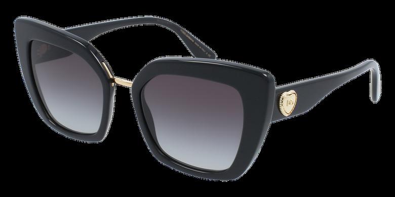 Lunettes de soleil femme DG4359 noir