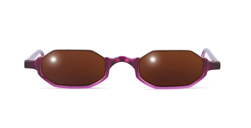 Lunettes de vue FT1S rose - vue de face
