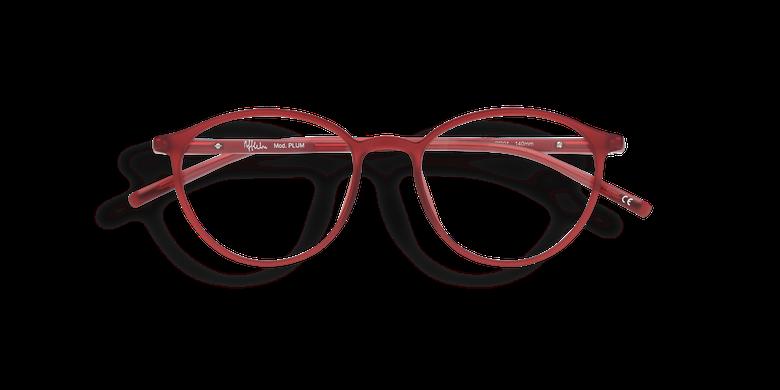 Gafas graduadas mujer LIGHT TONIC rojo