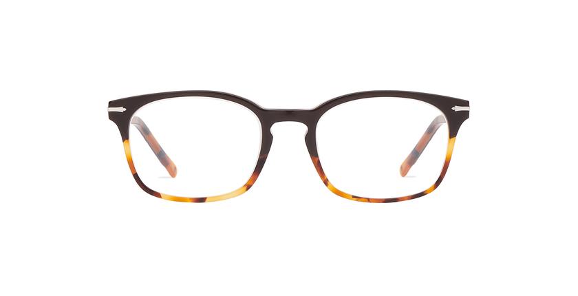 Gafas graduadas hombre BELLIGNAT marrón/carey - vista de frente