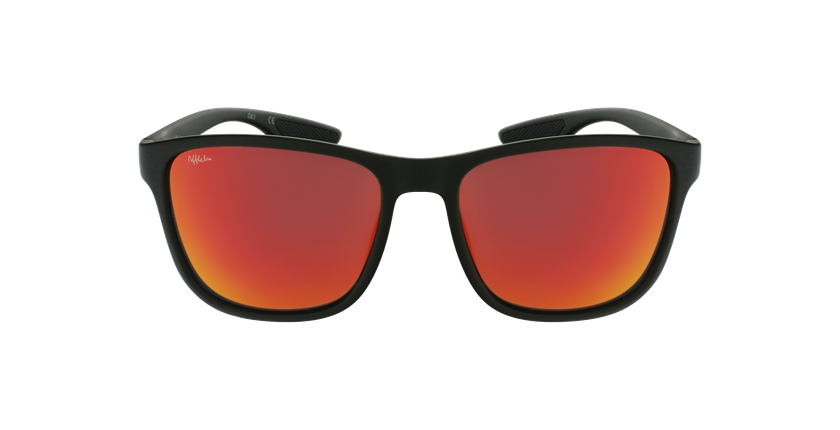 Óculos de sol homem SANTS BK preto - Vista de frente