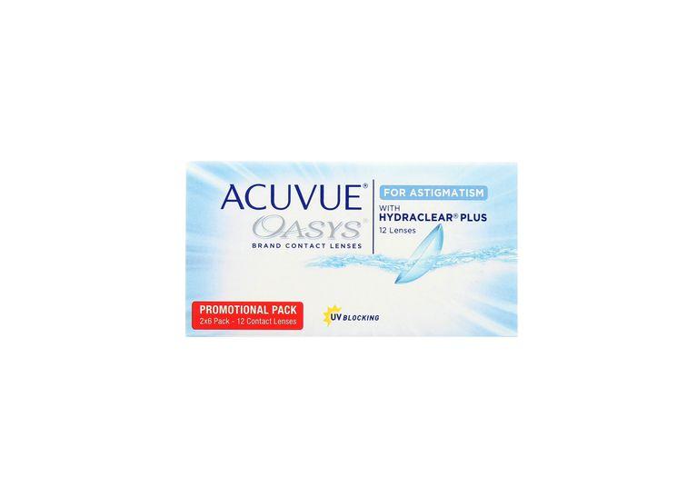 Lentilles de contact Acuvue® Oasys® for Astigmatism 12L