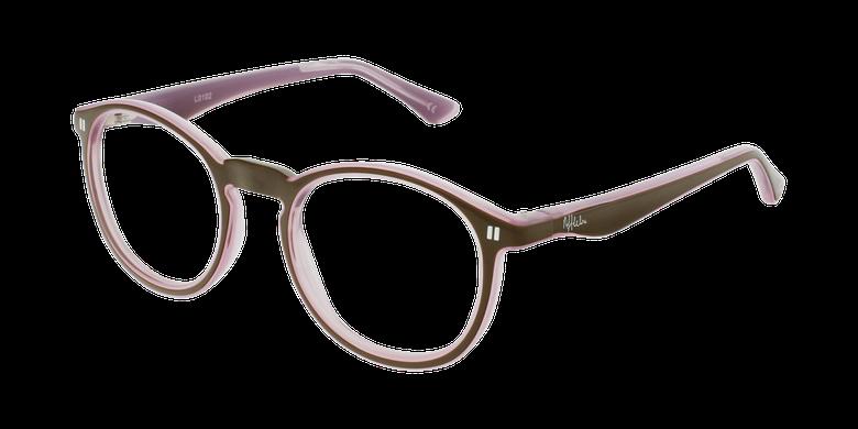 Óculos graduados criança REFORM TEENAGER (J4 BRPK) castanho/rosa