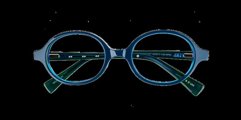 39c25d157 Óculos graduados criança KEVIN AZUL azul/amarelo ...