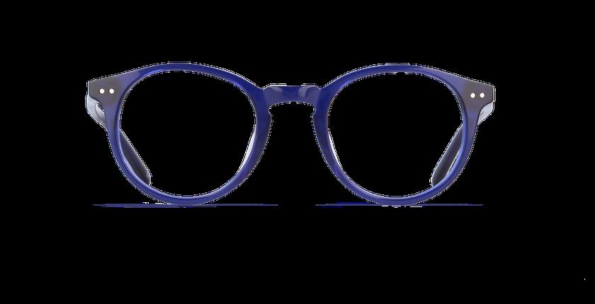 Gafas graduadas niños BRISBANE azul - vista de frente