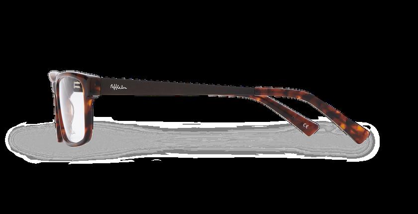 Lunettes de vue homme KYLIAN écaille/marron - Vue de côté