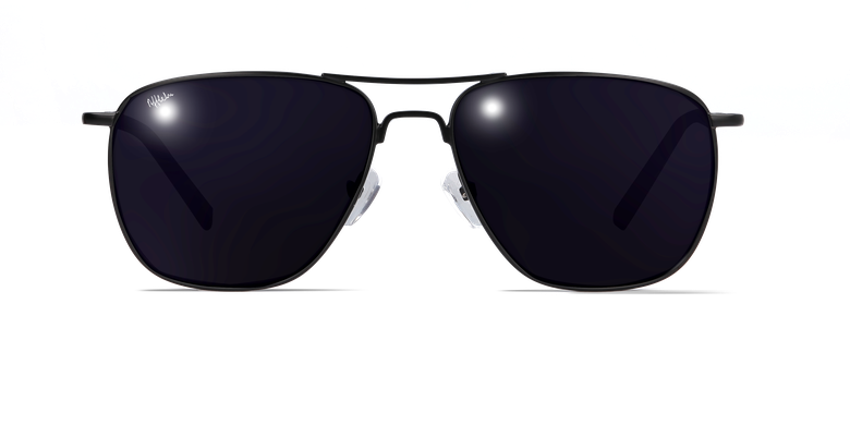 Lunettes de soleil homme JOHN noir