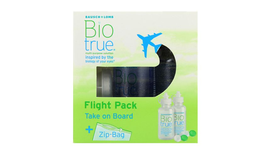 Biotrue Flight Pack 2x60ml - vue de face