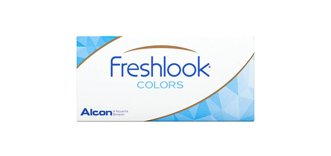 Lentilles de contact FreshLook Colors Hazel 2L