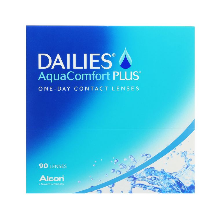 Lentilles de contact Dailies AquaComfort Plus 90L