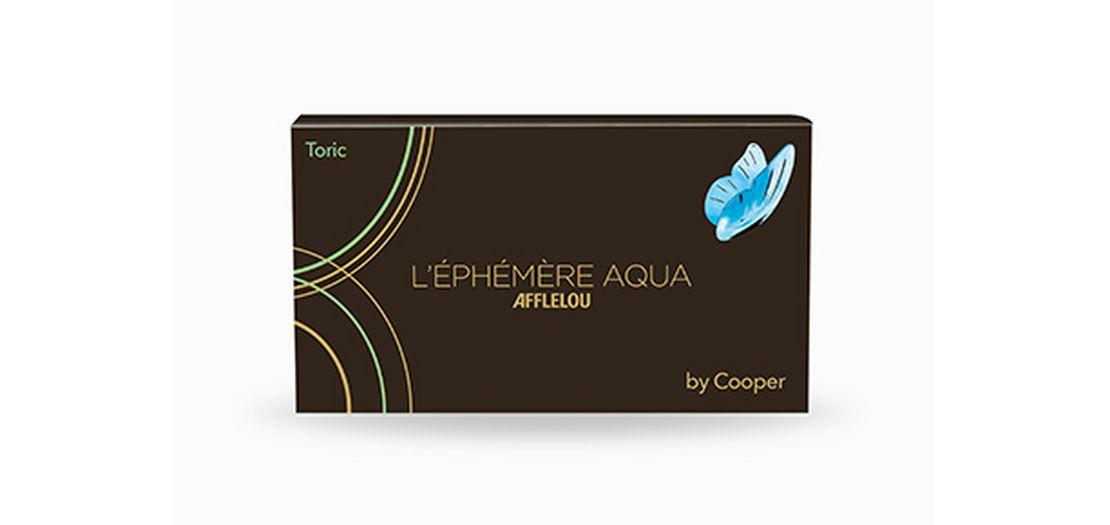 Lentilles de contact Ephémère Aqua Mensuelle Toric 6L