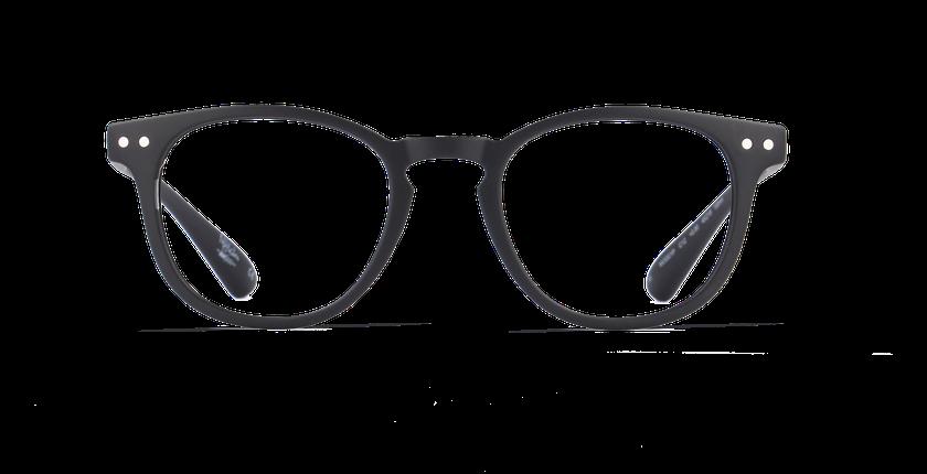 Gafas graduadas hombre BLUE BLOCK JUNIOR negro - vista de frente