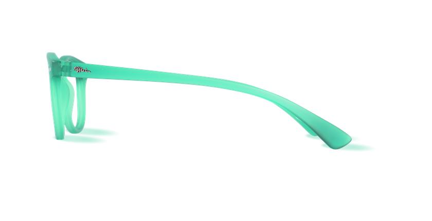 Óculos graduados BLUEBLOCK MIX (H/M) verde - Vista lateral