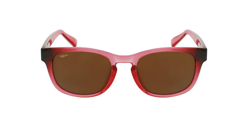 Óculos de sol criança POROMA PK rosa - Vista de frente
