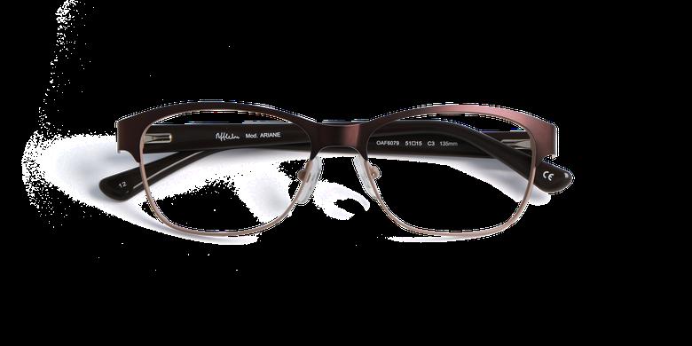 Gafas graduadas mujer ARIANE marrón