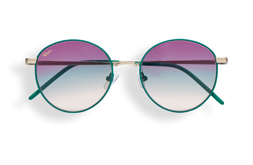 Gafas de sol mujer BEVERLY verde - danio.store.product.image_view_face