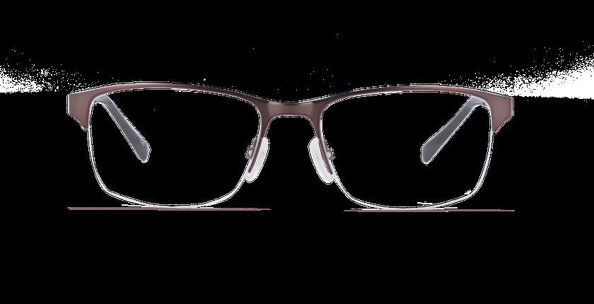Lunettes de vue homme SLOANE marron - vue de face
