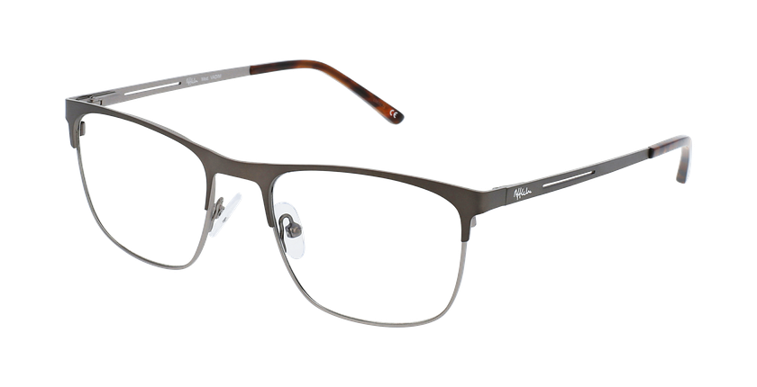Óculos graduados homem VADIM GY (TCHIN-TCHIN +1€) cinzento/prateado - vue de 3/4