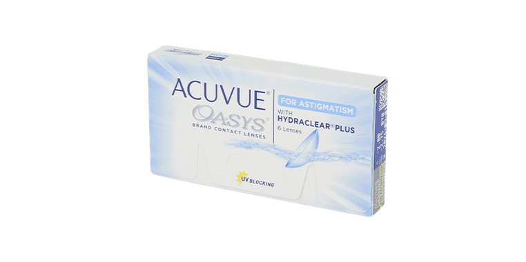 Lentilles de contact Acuvue® Oasys® for Astigmatism 6L