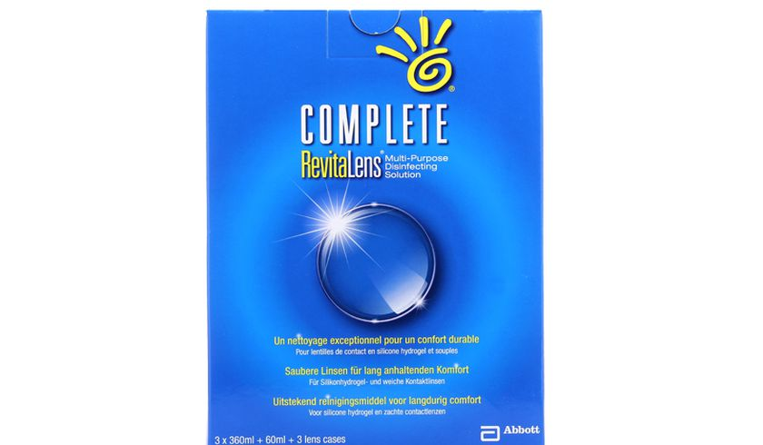 Complete Revitalens 3x360ml - vue de face