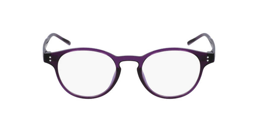 Lunettes de vue MAGIC 48 BLUEBLOCK violet - Vue de face