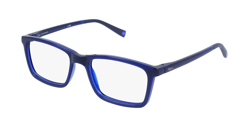Óculos graduados criança RFOC1 BL REFORM azul - vue de 3/4