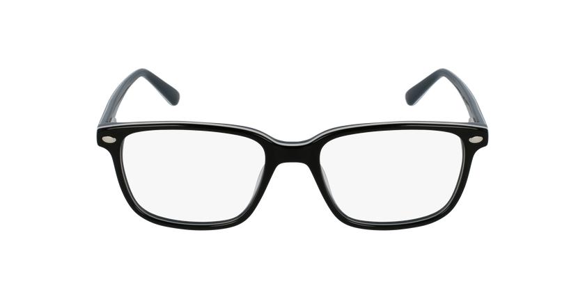 Lunettes de vue enfant AIDAN noir/gris - Vue de face